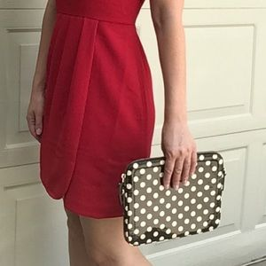 KATE SPADE polka dotted iPad tablet pouch case